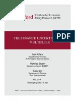 Alfaro, Bloom, And Lin (2018)_The Finance Uncertainty Multiplier