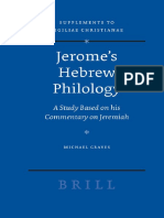(Vigiliae Christianae Supplements 90) Michael Graves - Jerome's Hebrew Philology. A Study Based on his Commentary on Jeremiah (Vigiliae Christianae, Supplements 90)-Brill (2007).pdf