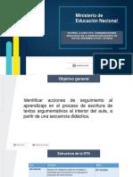 DIDÁCTICA PARA LA PRODUCCIÓN DE TEXTOS ARGUMENTATIVOS