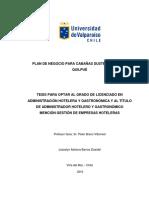 Plan de Negocio Para Cabañas Sustentables en Quilpué