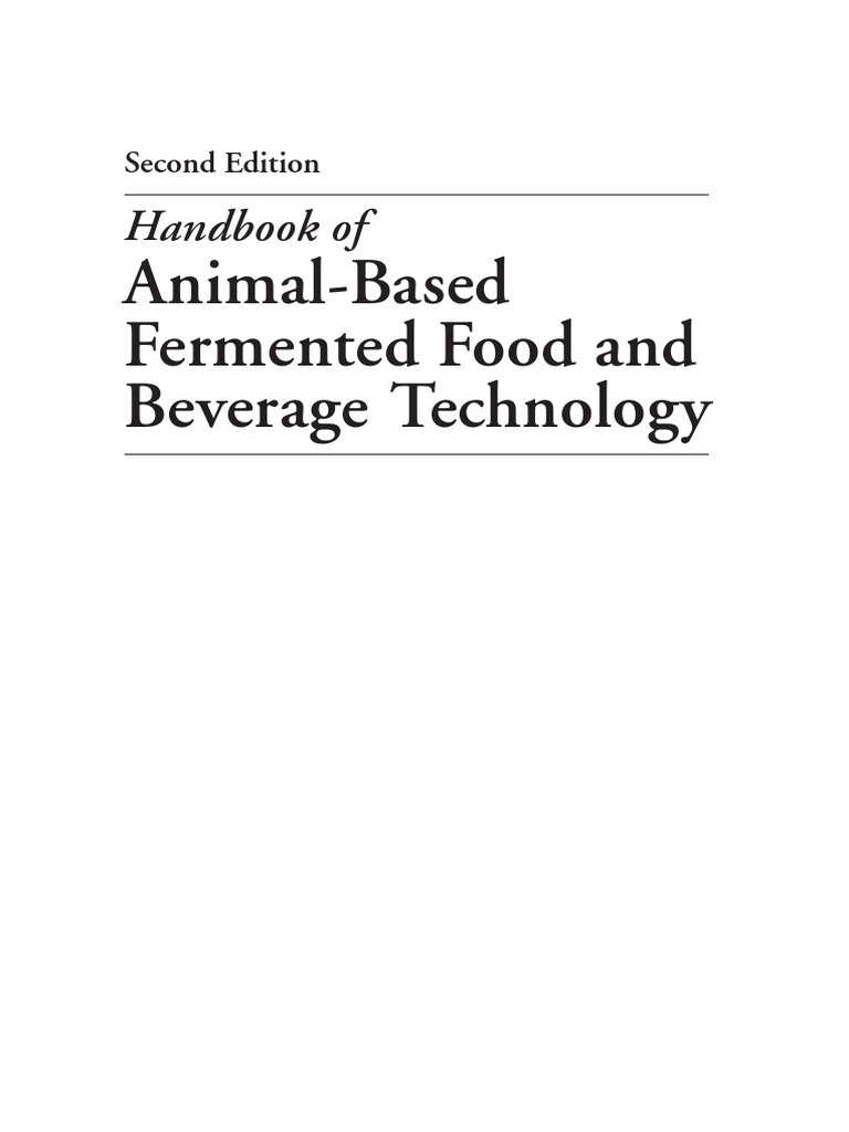 Frozen Hentak handbook of fermented food and beverage technology, second