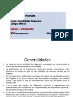 1ra Sesion Contabilidad Financiera - Maestria de Finanzas Profesor XXVII