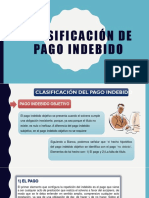 2 Clasificación de Pago Indebido