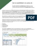 Excel Para Controlar Tu Rentabilidad y Tu Cartera de Inversión