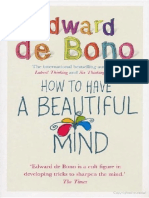 How to Have a BEAUTIFUL MIND Edward de B