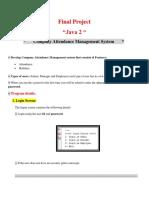 Final Project Java 2