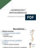 Colinergico y anticolinergico