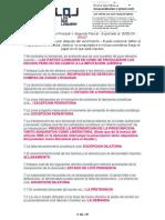 D.procesal I - 2 Parcial. LQL