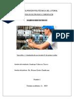 Analisis de redes electricas 2 - Simulaciones