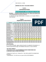 Demanda de Agua y Balance Hidrico 2019 b