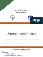 Aula - Empreendedorismo