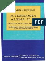 1844 - A Ideologia Alemã Vol. II - Editorial Presença OCR