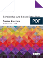 ACER Scholarships Practice Questions Year 7 8 Download