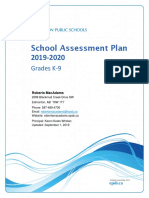 school assessment plan 2019-2020  1