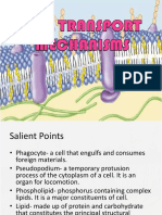 3. Cell Transport Mechanisms and Organismic Physiology
