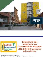 1.- Estructura del IDB-2. Aspectos psicométricos.odp