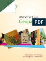 UNESCO Geopark flyer