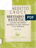 91712987 Benedetto Croce Breviario de Estetica Espasa Calpe s a 1985