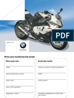 Riders Manual S1000RR 2010 En
