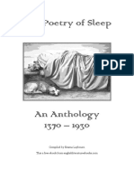Poetry of Sleep