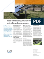 Solar PV Ground Mount Racking Systems