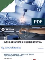 Seguridad e Higiene Industrial. Unidad 02