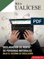 .Declaracion Renta Personas Naturales 2018