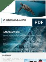 EDUCACIÓN AMBIENTAL interculturalidad