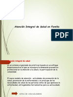 Atencion Integral de La Salud