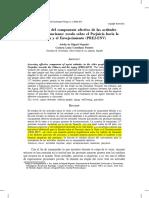 (2012) Evaluación Del Componente Afectivo de Las Actitudes Viejistas en Ancianos Escala Sobre El Prejuicio Hacia La Vejez y El Envejecimiento (PREJ-EnV)