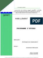 PE de la filière TS en Techniques d'Habillement 04-06-02