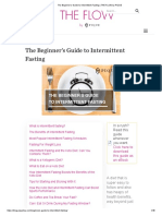 The Beginner's Guide to Intermittent Fasting _ the FLOW by PIQUE
