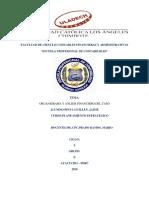 Actividad N° 14  Actividad de Investigación Formativa  Revisión de informe de tesis