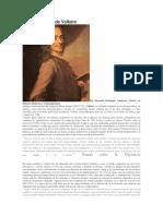 El Pensamiento de Voltaire