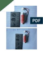 Bateria 3,6v
