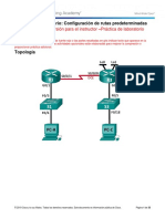 2.2.2.5 Lab - Configuring IPv4 Static and Default Routes - ILM