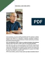 Entrevista a Julio Cotler