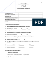 Protocolo anamnesis