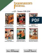 Woodworker's Journal - Vol.39 No.1 - Feb 2015