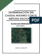 CAUDAL MAXIMO