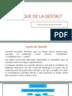 Enfoque de La Gestalt1