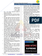 August Current Affairs for Railway Exam 2019