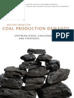 ARTÍCULO Coal Production Demands in the USA