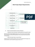 Mini Project Report Format 2019