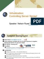 Virtualization-Controlling Server Sprawl Final