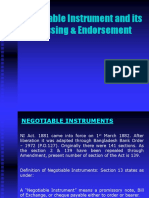 NI Instrument and Cheque crossing, Endorsement.pptx