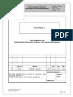 PTS N°03 Condiciones previas al trabajo con LLEE
