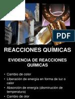 Reacciones quimicas Ecuacion Quimica