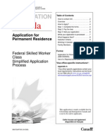 Application for Canadian Citizenship