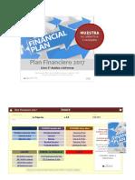 Plan Financiero 2017 MUESTRA